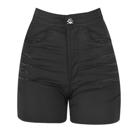 SHORTS RIOT DESTROYER PRETO