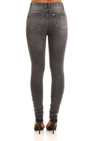 Calca Jeans Marisa 2 Skinny com Bordado - SHOP FORUM OFICIAL