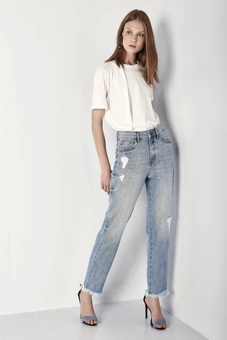 Calca Jeans Marina Cigarrete Original Denim