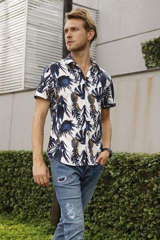 Camisa Estampada Smart - comprar online  Camisa Estampada Smart ... b6fa82a9c7318