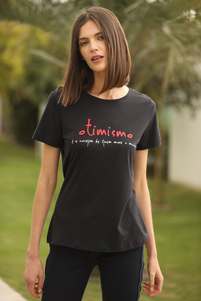 Camiseta Estampada Valores