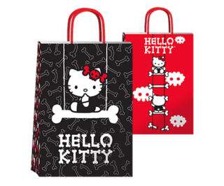 Hello Kitty dark 14x8x20 cm