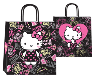 Hello Kitty dark 22x10x24 cm