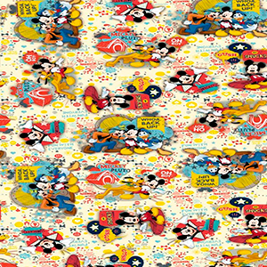 Papel Muresco Mickey&Friends