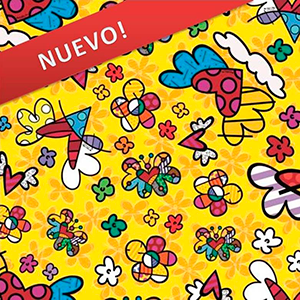 Papel Muresco Romero Britto