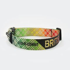 "Collar personalizado ""British"" en internet"