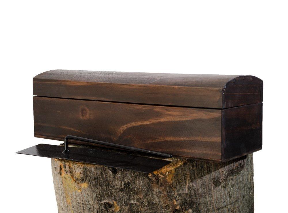 Chimenea bioetanol tipo cofre madera lhccomercializa - Comprar chimenea bioetanol ...