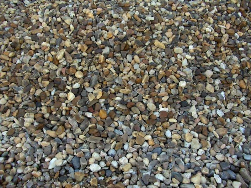 Piedritas para jardin canto rodado blanco bote kg piso adornado con piedras formando figuras - Piedra decorativa jardin ...
