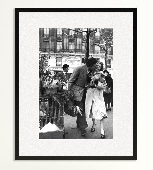 Les Amoureux Aux Poireaux 1950 Deco