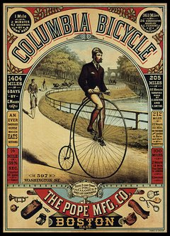 Columbia bycicle / deco