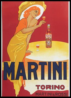 Martini woman / deco