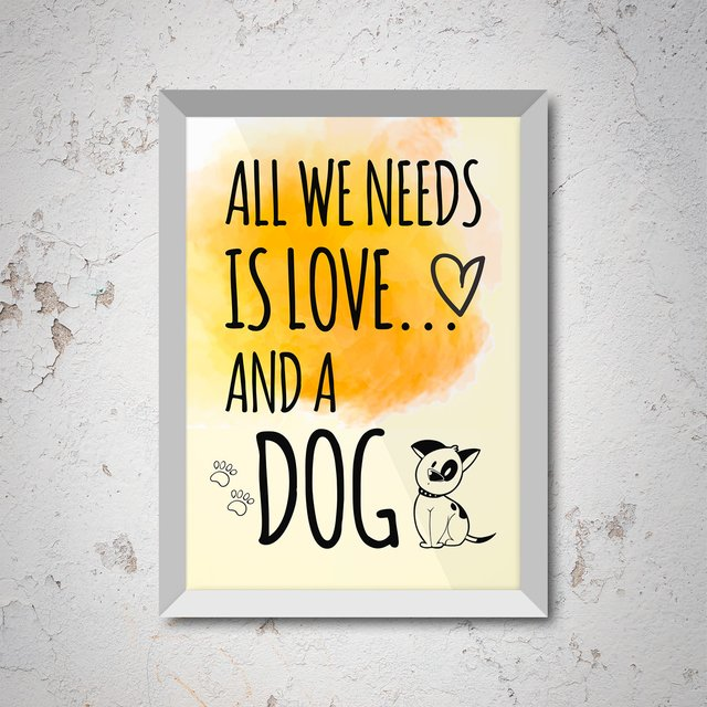poster-all-we-need-is-love-and-a-dog-branco