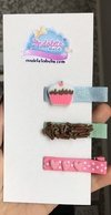 Hair Clips capcake