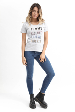 REMERA MC LIBERTE - Soho Denim