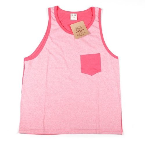 Musculosa Hombre Soho Rose