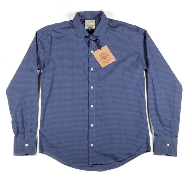 CAMISA ML DOBBY - Soho Denim