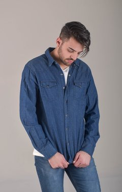 CAMISA ML BLUE - Soho Denim