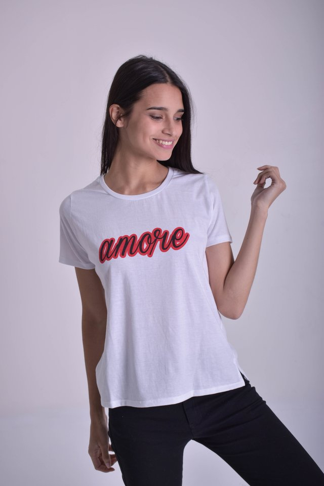 REMERA MC AMORE - Soho Denim