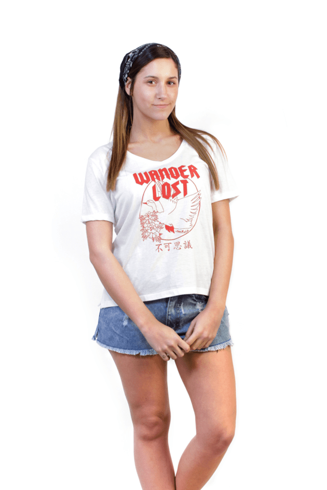 REMERA MC WANDER LOST