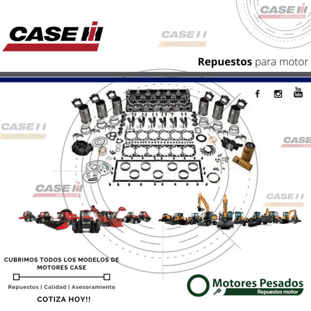Case | Repuestos Motor