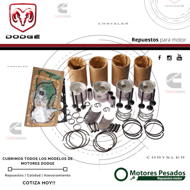 Repuestos Dodge - Dodge RAM - Dodge Jourey - Dodge Dakota - Dodge Jeep - Dodge Cherokee - Dodge 1500 - Dodge 1800 - Dodge GTX