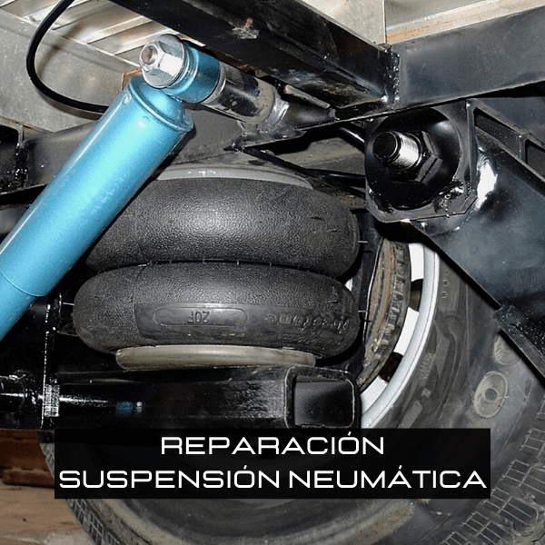 Reparacion de suspension neumatica