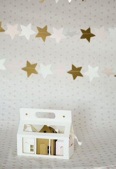 SET DE CASITAS COBRE - Minihaus Kids