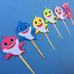 Toppers - Baby Shark - 18 unidades - comprar online