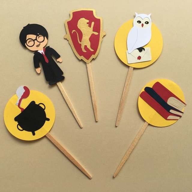 Toppers - Harry Potter - 10 unidades