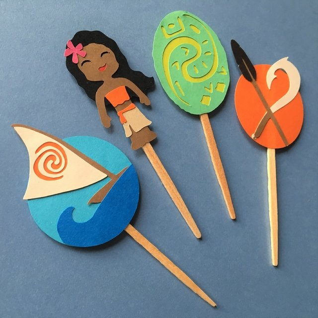 Toppers - Moana - 12 unidades - comprar online
