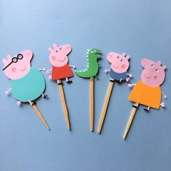 Toppers - Peppa Pig - 15 unidades - comprar online