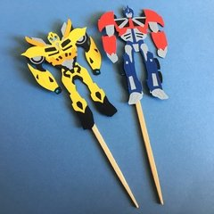Toppers - Transformers - 12 unidades - comprar online