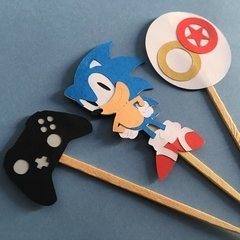 Toppers - Sonic - 12 unidades