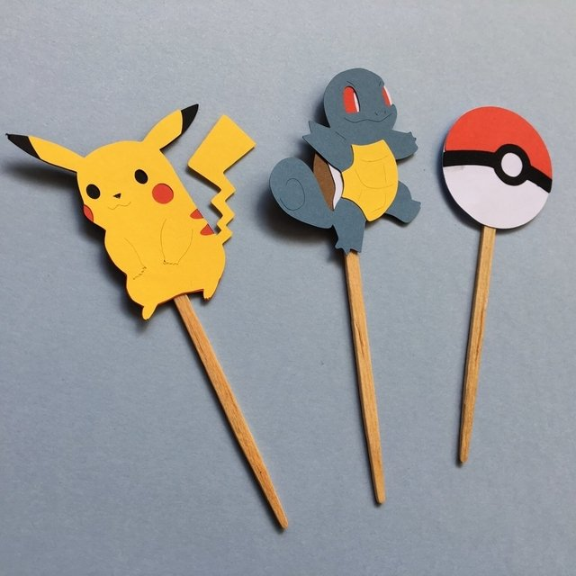 Toppers - Pokemon - 10 unidades - comprar online