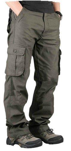 Pack X 2u Pantalon Hombre Cargo Reforzado Hard Work Militar