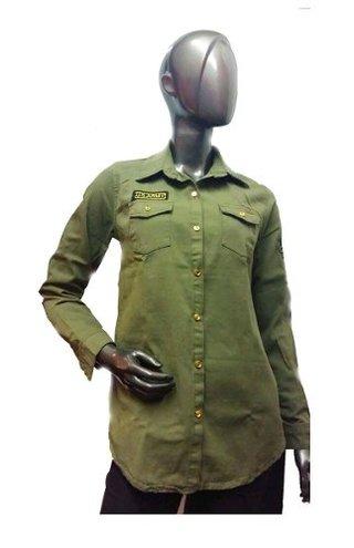 gran selección de 6e9fc b6958 Camisa Militar Mujer Women Warrior
