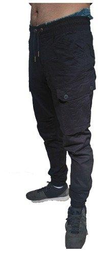 Pantalon Cargo Jogger Moda Super Comodo Chupin Hombre Fresco