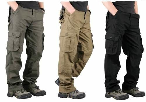 Pantalon Cargo Hombre Man Ultra Reforced Full Gabardina