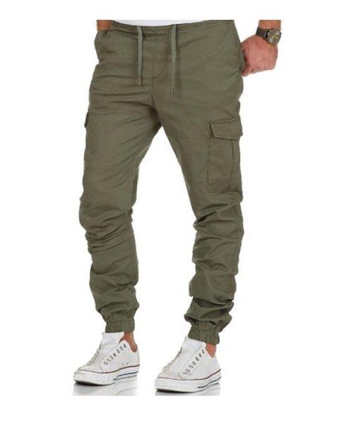 Pantalon Cargo Jogger Chupin Gabardina Premium
