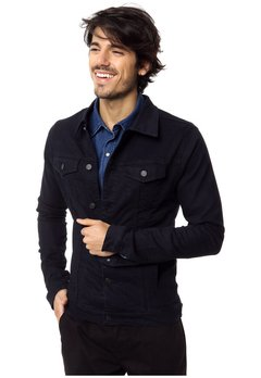 CAMPERA DE JEAN POOL BLUE BLACK