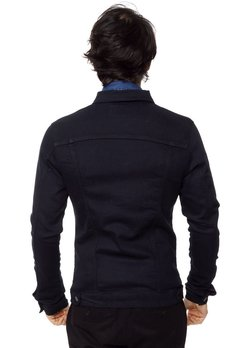CAMPERA DE JEAN POOL BLUE BLACK en internet