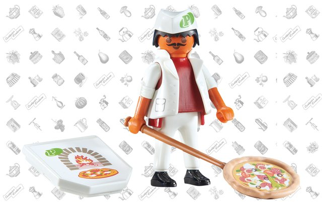 Playmobil Pizzero en internet