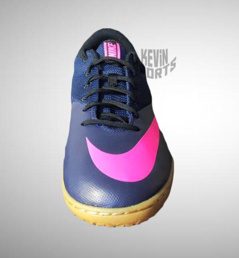 8fb532227c Chuteira Nike Mercurial X Pro IC Futsal - Preto e Rosa - Kevin Sports