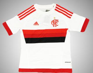 Camisa Infantil Flamengo II Branca Compra Rápida 3f9eb036c0f40