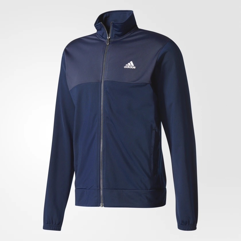 a6cfee642 Casaco Adidas Back2 Basics Azul - Kevin Sports