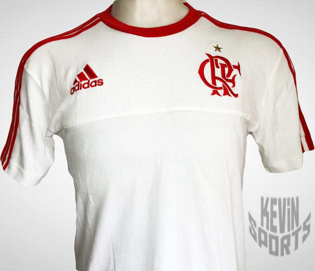 Camisa Adidas Branca Flamengo Viagem - comprar online 55602803da2e3
