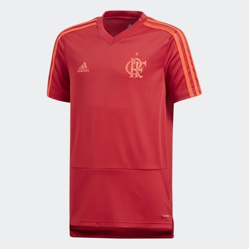 f69c0238e6 Camisa Infantil Flamengo Treino 2018 Vermelha