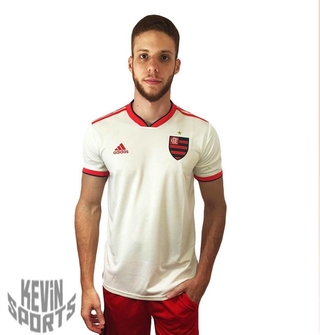 69426730725 Camisa Flamengo Adidas II Branca 2018 Compra Rápida