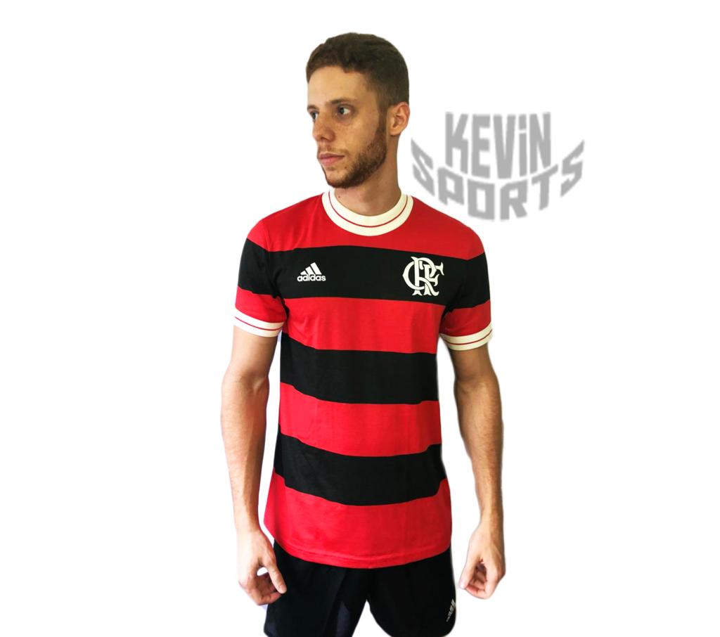 5239ae6115 Camisa Icon Flamengo Adidas Edição Limitada - Retrô