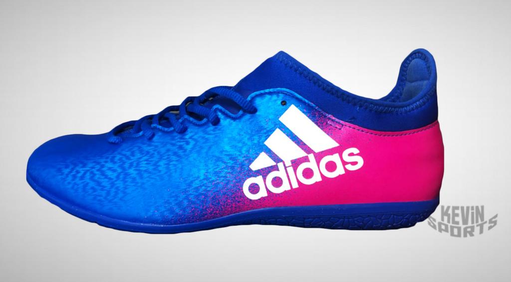 caad9f0657 Chuteira Adidas X 16.3 IN Futsal - Azul - Kevin Sports